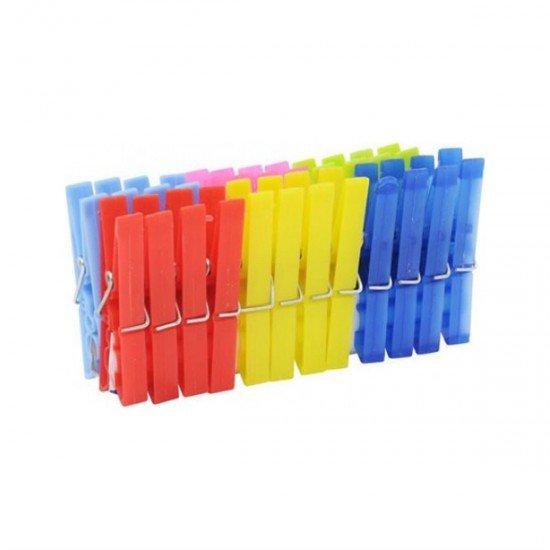 Filiz Çamaşır Mandalı Plastik 24lü