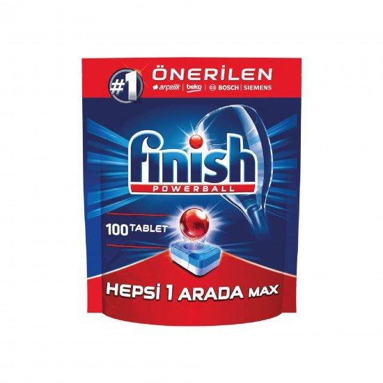 Finish Hepsi Bir Arada Bulaşık Makinesi Deterjanı 100 Tablet