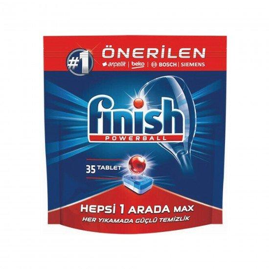 Finish Hepsi Bir Arada Bulaşık Makinesi Deterjanı 35 Tablet