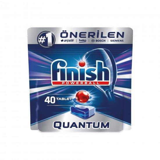 Finish Quantum Bulaşık Makinesi Deterjanı 40 Tablet