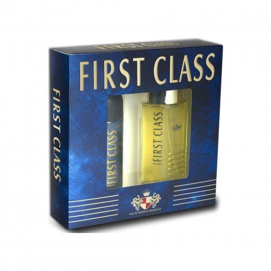 First Class EDT Erkek Parfüm 100 Ml & Deodorant 150 Ml
