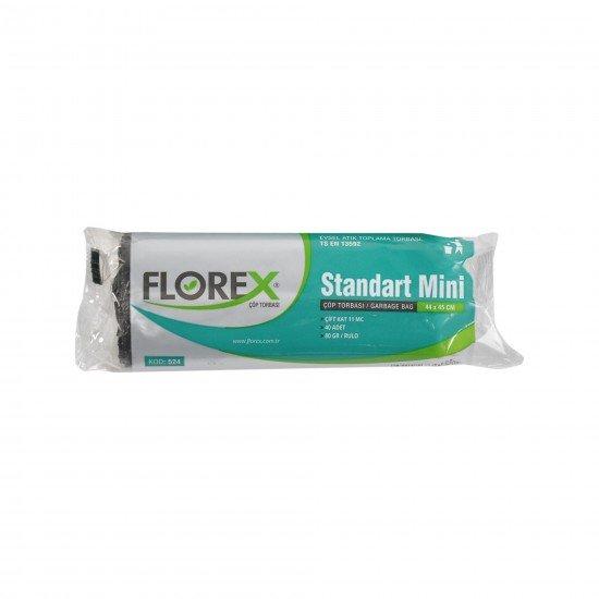 Florex Standart Mini Boy Çöp Torbası 40 Adet 40 X 45 Cm