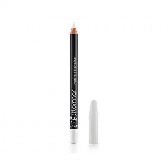Flormar Beyaz Eyeliner - Waterproof Eyeliner Pure White 113