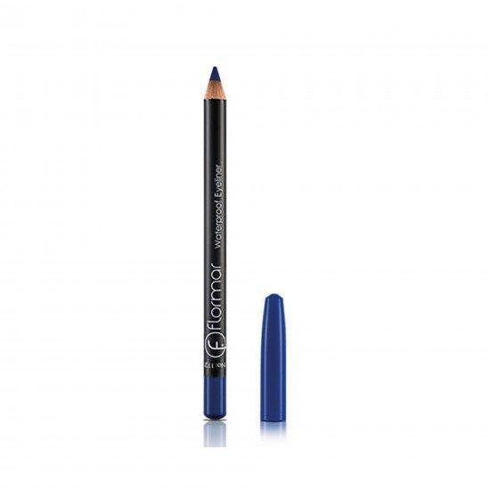 Flormar Mavi Eyeliner - Waterproof Eyeliner  Ultramarine Blue 112