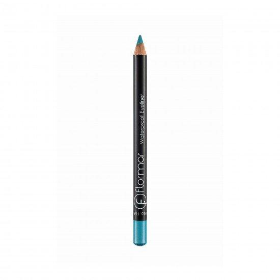 Flormar Su Geçirmeyen Eyeliner - Waterproof Eyeliner Icy Blue 116