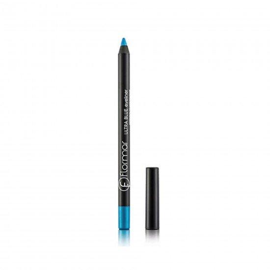 Flormar Ultra Yoğun Mavi Eyeliner - Ultra Eyeliner Blue