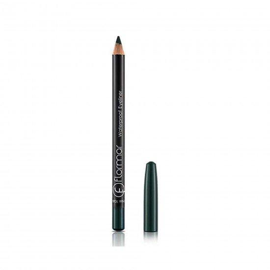 Flormar Yeşil Eyeliner - Waterproof Eyeliner Cobalt Green  104