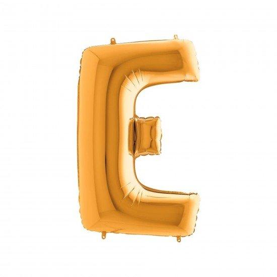 Folyo Balon Harf E Gold 40 İnc 100 Cm