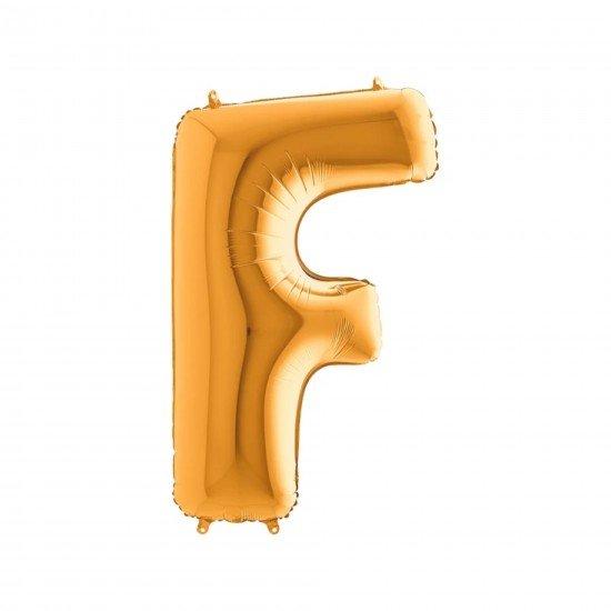 Folyo Balon Harf F Gold 40 İnc 100 Cm