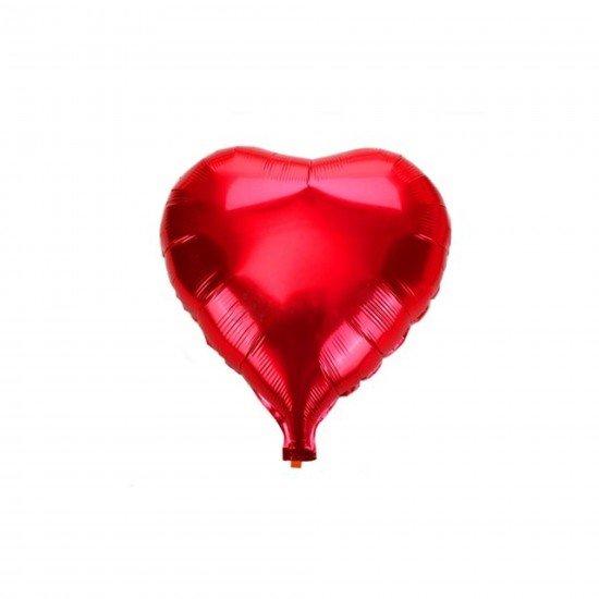 Folyo Balon Kalp Büyük 18 İnc 30 Cm