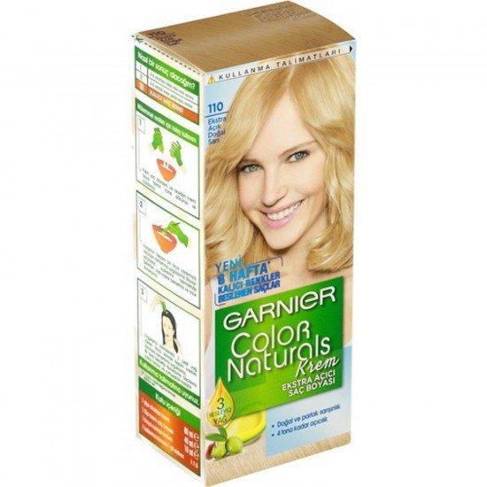 Garnier Color Naturals 110 Ekstra Açık Doğal Sarı Saç Boyası