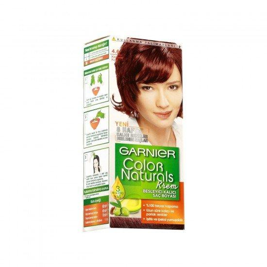 Garnier Color Naturals 4.6 Kestane Kızıl Saç Boyası