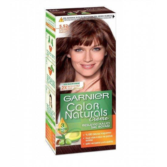Garnier Color Naturals 5.52 Çikolata Kahve Saç Boyası