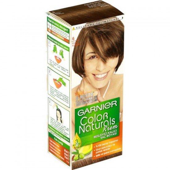 Garnier Color Naturals 6.0 Koyu Kumral Saç Boyası