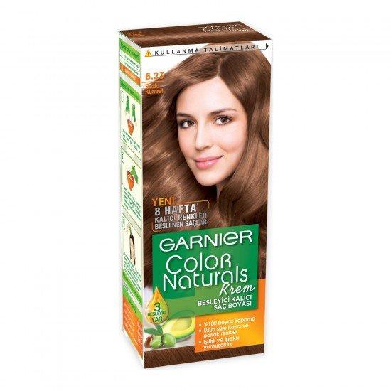 Garnier Color Naturals 6.23 Buzlu Kumral Saç Boyası