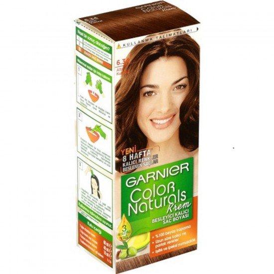 Garnier Color Naturals 6.34 Altın Kumral Saç Boyası