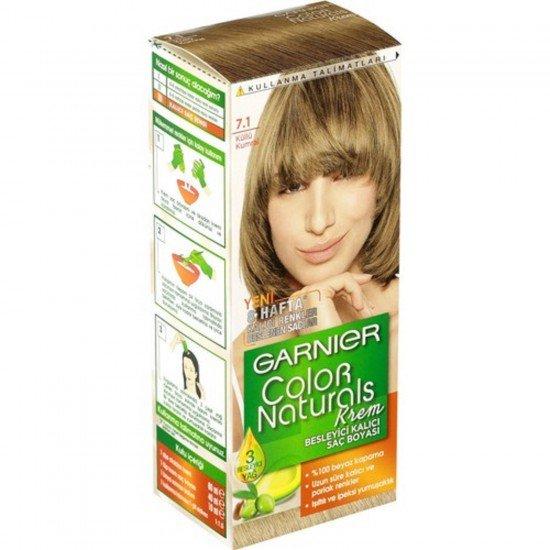 Garnier Color Naturals 7.1 Küllü Kumral Saç Boyası