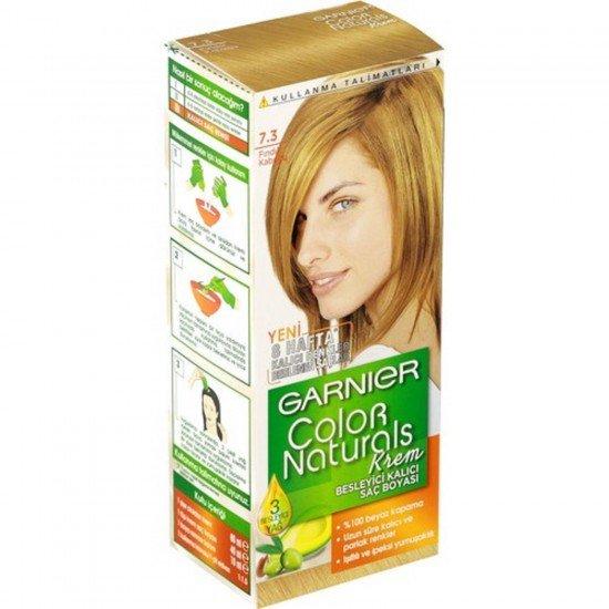Garnier Color Naturals 7.3 Fındık Kabuğu Saç Boyası