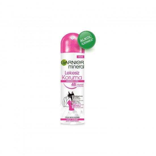 Garnier Mineral Lekesiz Koruma Kadın Sprey Deodorant 150 ML