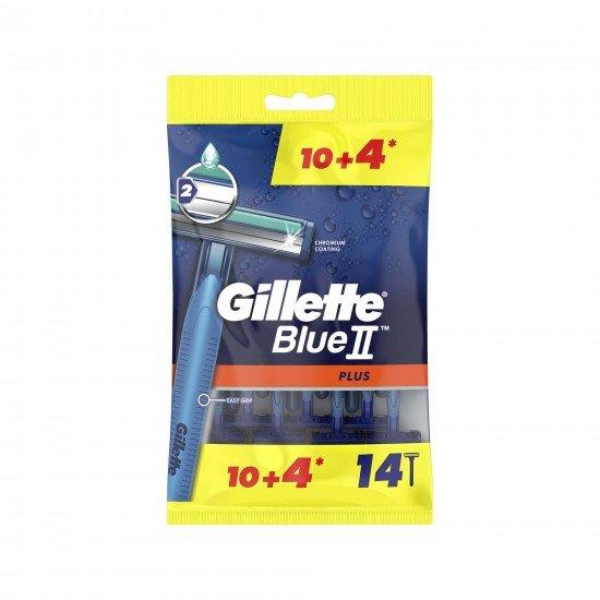 Gillette Blue2 Plus Tıraş Bıçağı 14 LÜ