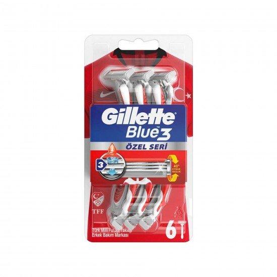 Gillette Blue3 Pride Tıraş Bıçağ  6 LI