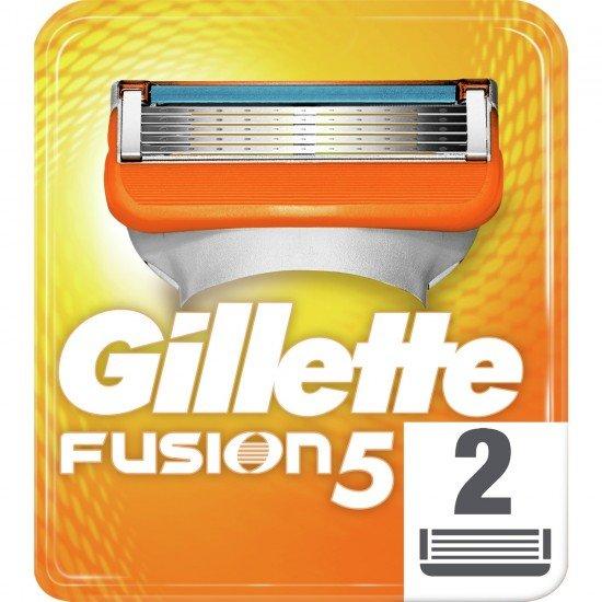 Gillette Fusion Yedek Tıraş Bıçağı 2li