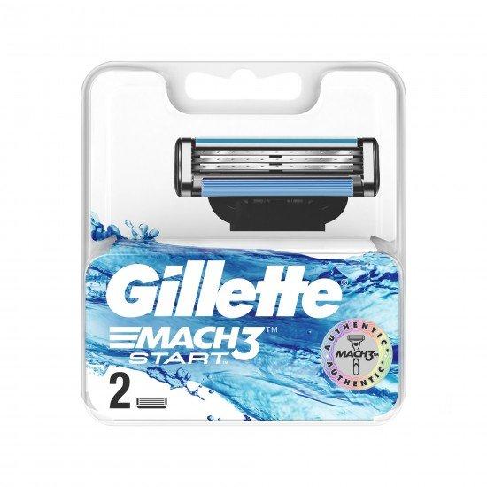 Gillette Mach3 Start Yedek Tıraş Bıçak 2 Lİ
