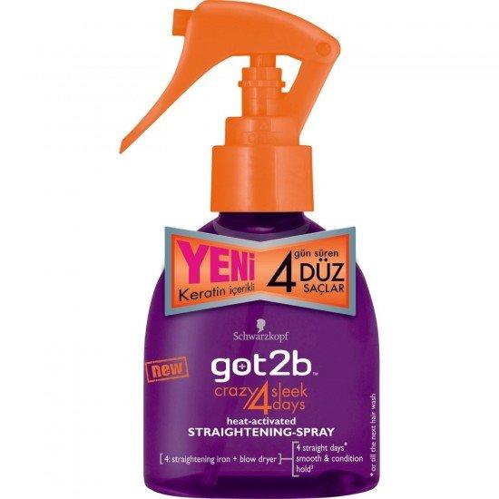 Got2b Saç Düzleştirici Spreyi 200 Ml