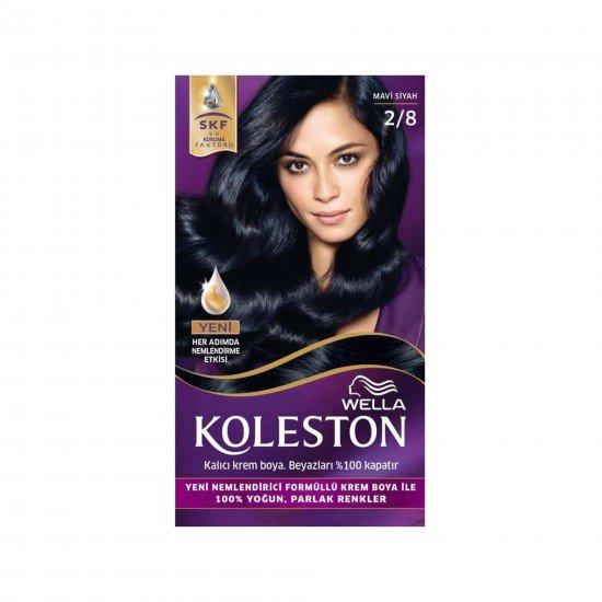 Koleston Kit Set Saç Boyası 2/8 Mavi Siyah
