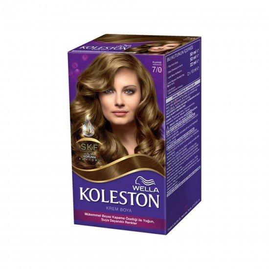 Koleston Kit Set Saç Boyası 3/4 Koyu Kestane