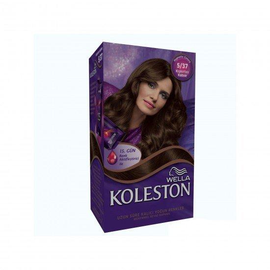 Koleston Kit Set Saç Boyası 5/37 Kışkırtıcı Kahve