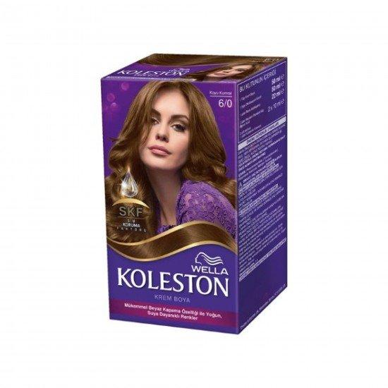 Koleston Kit Set Saç Boyası 6/0 Koyu Kumral