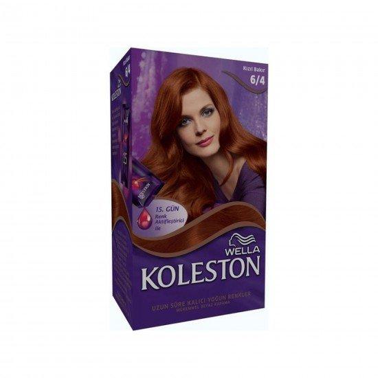 Koleston Kit Set Saç Boyası 6/4 Kızıl Bakır