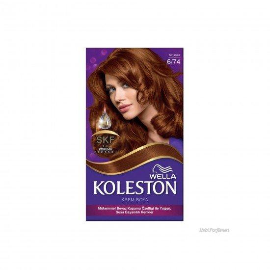 Koleston Kit Set Saç Boyası 6/74 Terrakota