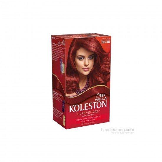 Koleston Kit Set Saç Boyası 66/46 Aşk Alevi