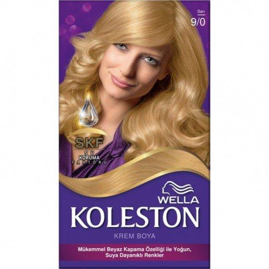 Koleston Kit Set Saç Boyası 9/0 Sarı