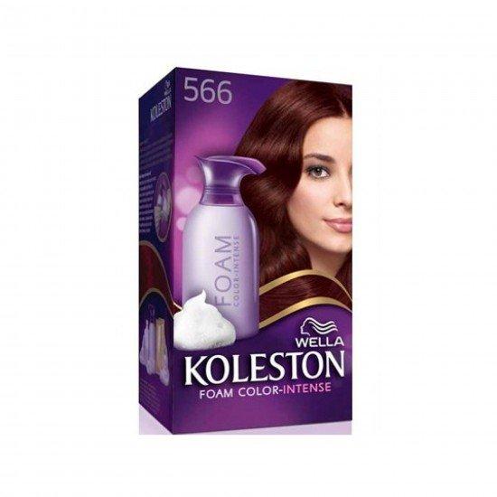 Koleston Köpük Saç Boyası 566 Şarap Kızılı