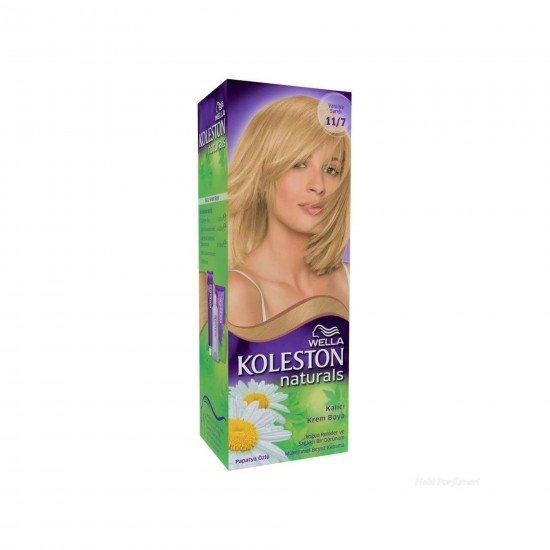 Koleston Naturals Set Saç Boyası 11/7 Vanilya Sarısı