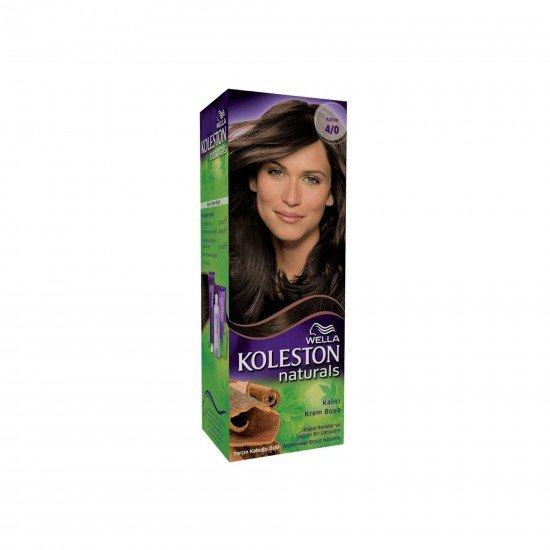 Koleston Naturals Set Saç Boyası 4/0 Kahve