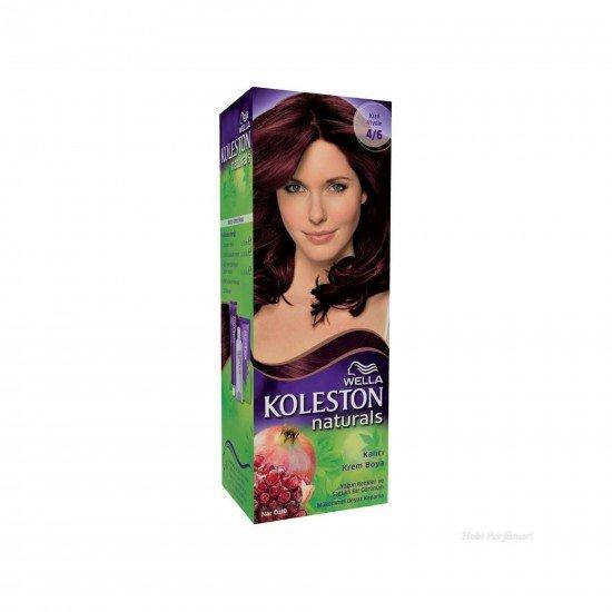 Koleston Naturals Set Saç Boyası 4/6 Kızıl Viyole