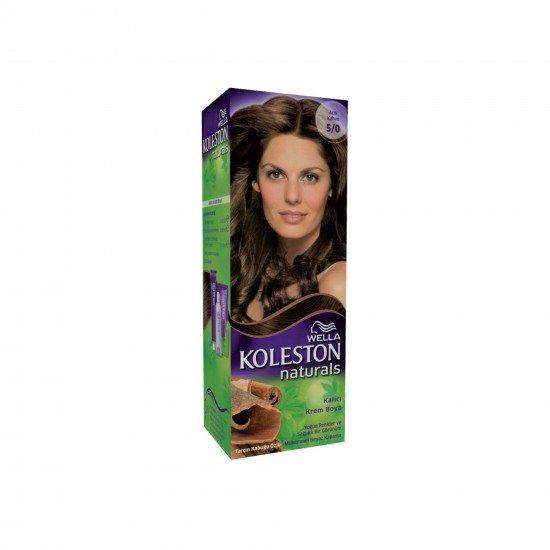 Koleston Naturals Set Saç Boyası 5/0 Açık Kahve