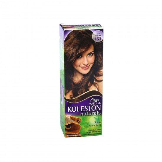 Koleston Naturals Set Saç Boyası 5/73 Altın Kestane