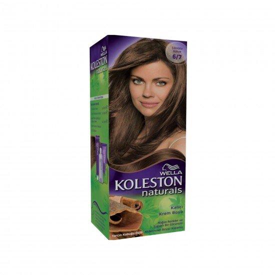 Koleston Naturals Set Saç Boyası 6/7 Çikolata Kahve