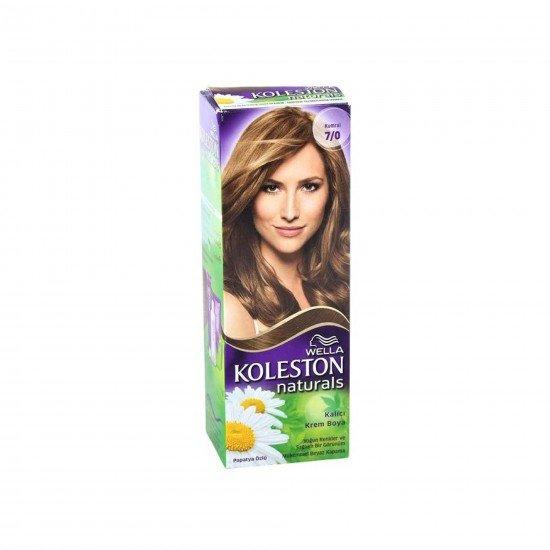 Koleston Naturals Set Saç Boyası 7/0 Kumral