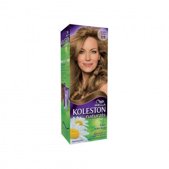 Koleston Naturals Set Saç Boyası 7/3 Karamel Kumral