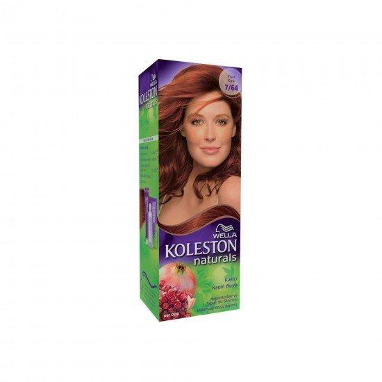 Koleston Naturals Set Saç Boyası 7/64 Vişne Kızılı