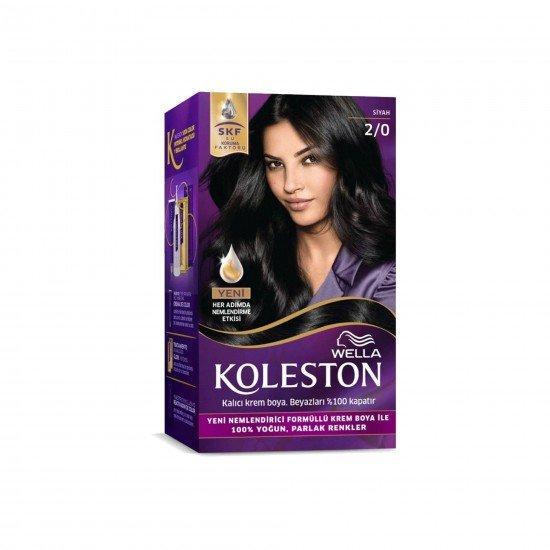 Koleston Set Saç Boyası 2/0 Siyah