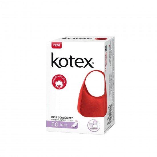 Kotex İnce Günlük Ped Çanta Paketleri Deo 56 Adet