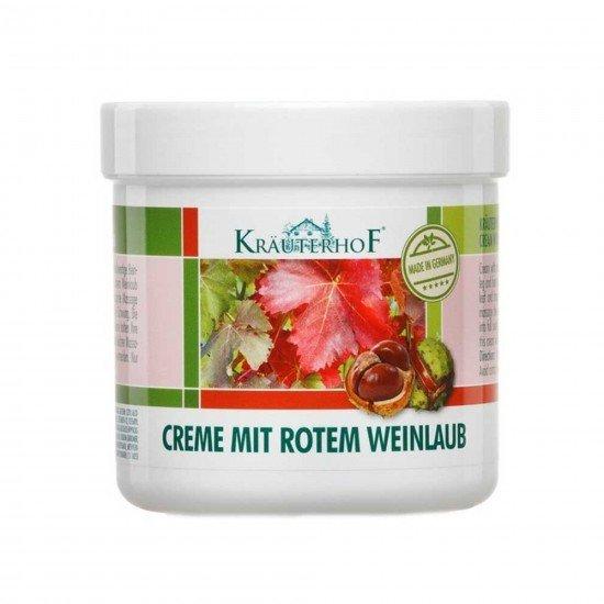 Krauterhof Kırmızı Asma Yaprağı Yorgun Bacak Kremi 250 Ml