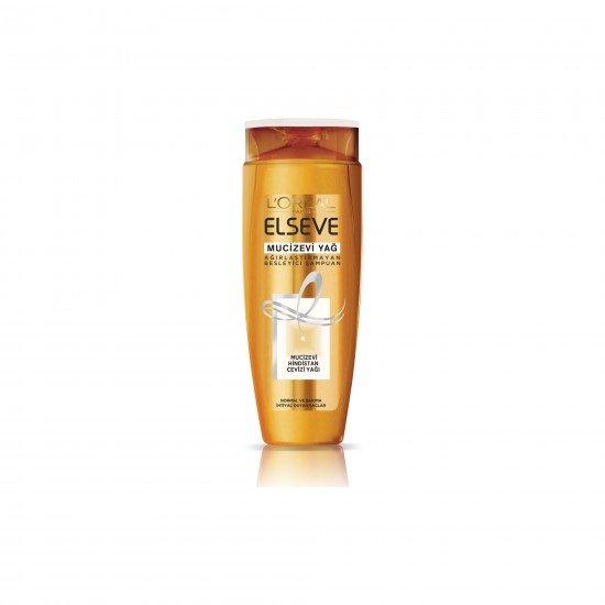 LOréal Paris Elseve Mucizevi Hindistan Cevizi Yağı Ağırlaştırmayan Besleyici Şampuan 520 ml